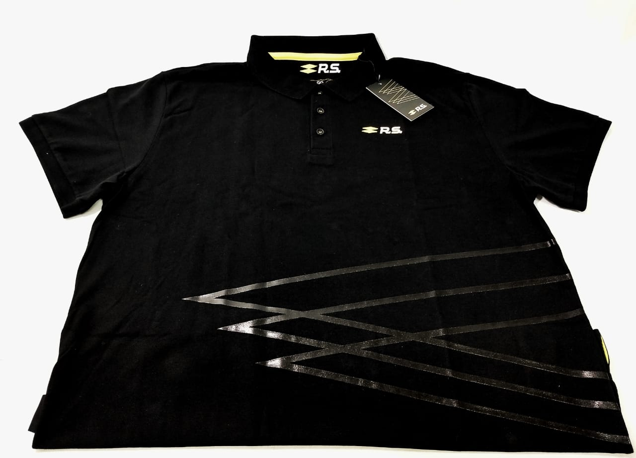 Camisa Polo Gg New Graphic Rs - Camiseta - Preto - Sku: 7711